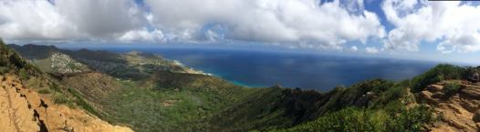 Koko Head Crater. Taken at the top of the stairs